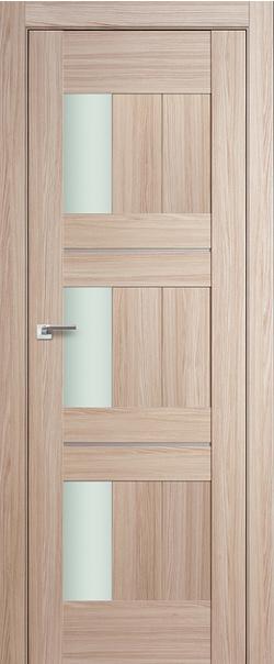 Межкомнатная дверь  35Х матовое 800*2000 Капучино мелинга AL серия ProfilDoors серия X Модерн из экошпона   - Апис плюс