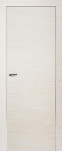 Межкомнатная дверь  1Z 800*2000 Эшвайт кроскут матовая с 4-х сторон Eclipse 190 серия ProfilDoors серия Z из экошпона   - Апис плюс