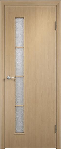 Межкомнатная дверь  С14 ДО 800*2000 Беленый дуб серия Ламинированные из МДФ    - Апис плюс