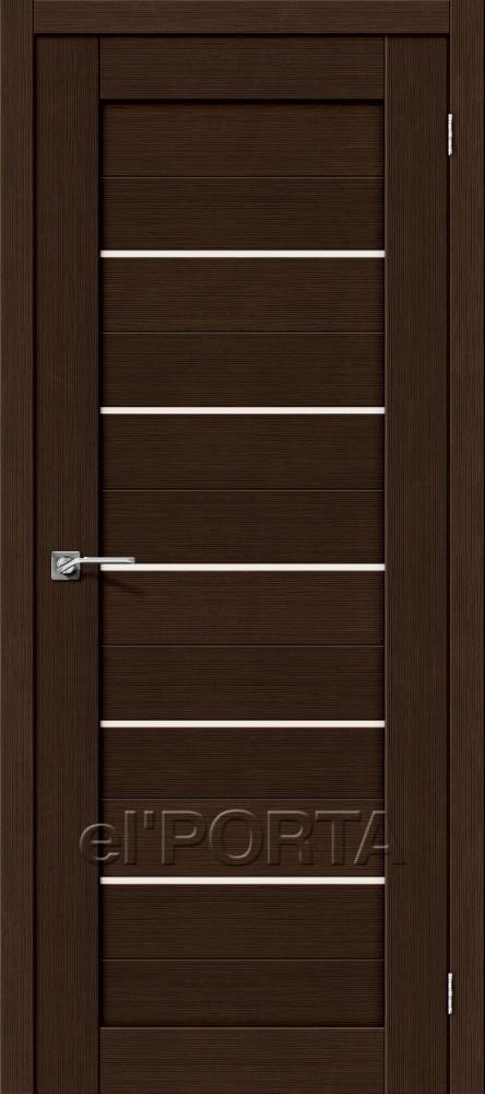 Дверь межкомнатная ПОРТА-22 3D WENGE - Апис плюс