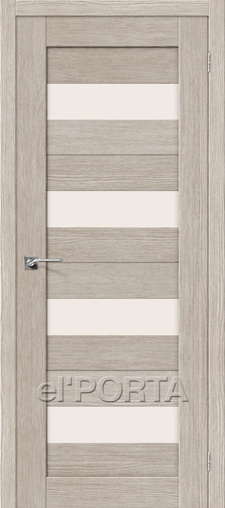 Дверь межкомнатная ПОРТА-23 3D CAPPUCCINO - Апис плюс