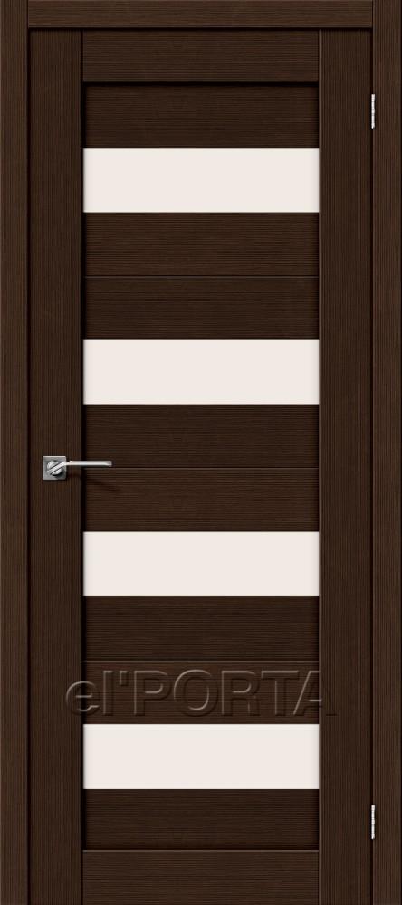 Дверь межкомнатная ПОРТА-23 3D WENGE - Апис плюс