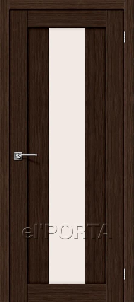 Дверь межкомнатная ПОРТА-25 3D WENGE - Апис плюс