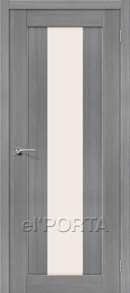 Дверь межкомнатная ПОРТА-25 3D GREY - Апис плюс