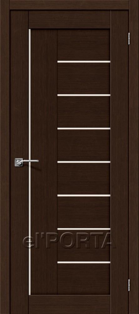 Дверь межкомнатная ПОРТА-29 3D WENGE - Апис плюс
