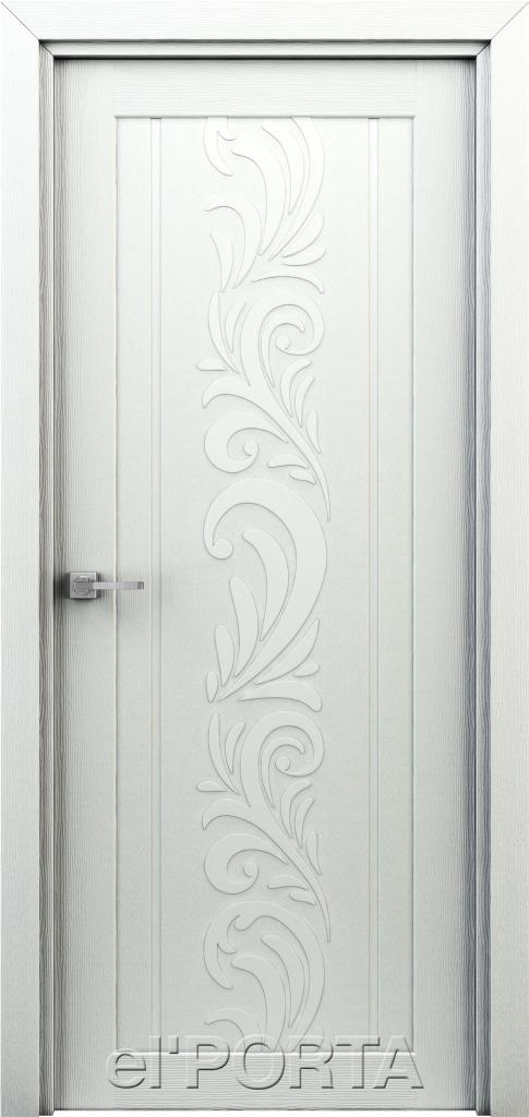 Дверь межкомнатная Весна ПГ 600 жасмин белый - Апис плюс