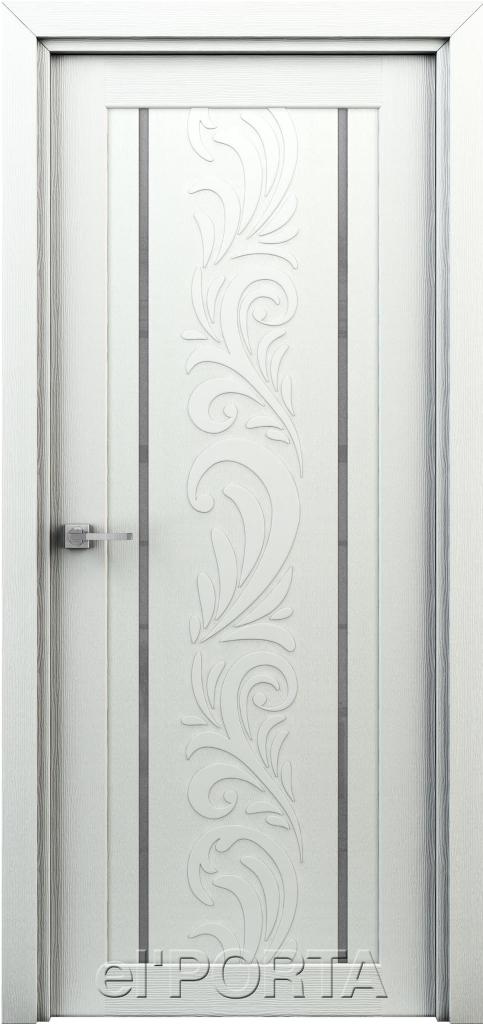 Дверь межкомнатная Весна ПО ст. 600  жасмин белый - Апис плюс