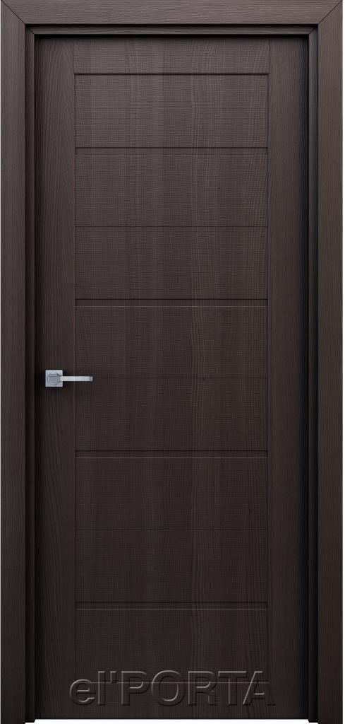 Дверь межкомнатная Орион ПГ 600 венге - Апис плюс