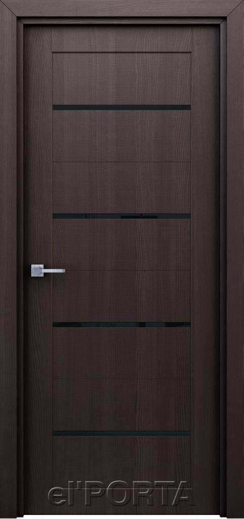 Дверь межкомнатная Орион ПО ст. 600 венге - Апис плюс