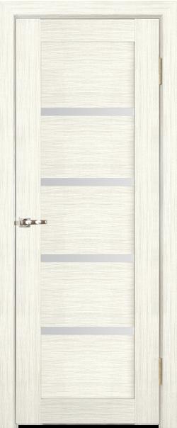 Межкомнатная дверь  Квартет ЧО бронза 800*2000 Слоновая кость серия Премиум из шпона    - Апис плюс