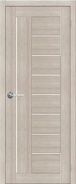 Межкомнатная дверь  ST3 ПО 800*2000 Капучино серия STARK из экошпона   - Апис плюс