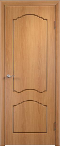 Межкомнатная дверь  Лидия ДГ 800*2000 Миланский орех серия Стандарт из ПВХ    - Апис плюс
