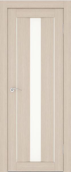 Межкомнатная дверь  S4 ДО 800*2000 Беленый дуб серия Сити из экошпона   - Апис плюс