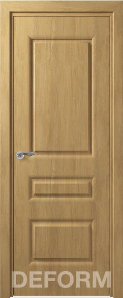Межкомнатная дверь  Алессандро ДГ 800*2000 Дуб шале натуральный серия DEFORM Классика из экошпона   - Апис плюс