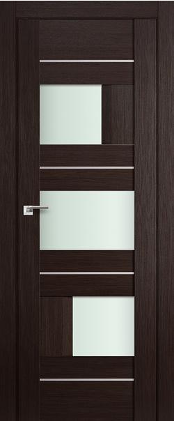 Межкомнатная дверь  39Х матовое 800*2000 Венге мелинга AL серия ProfilDoors серия X Модерн из экошпона   - Апис плюс