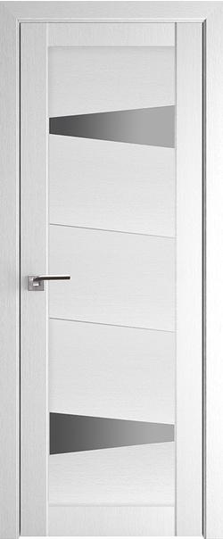 Межкомнатная дверь  2.84XN графит 800*2000 Монблан серия ProfilDoors серия XN Модерн из экошпона   - Апис плюс