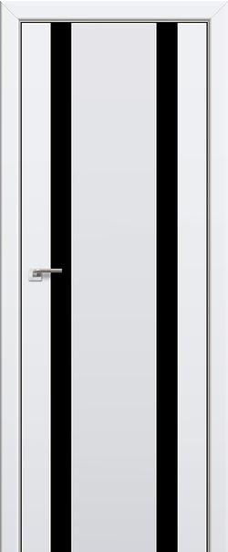 Межкомнатная дверь  63U черное 800 Аляска серия U Модерн из экошпона   - Апис плюс
