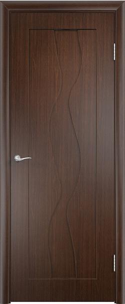 Межкомнатная дверь  Вираж ДГ 800*2000 Венге серия Стандарт из ПВХ    - Апис плюс