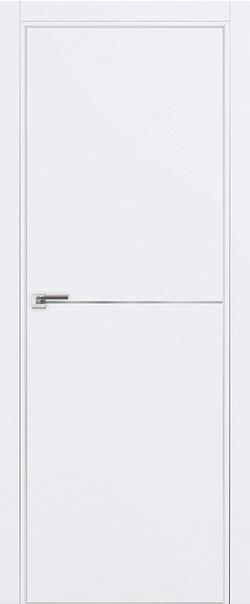 Межкомнатная дверь  12E 800*2000 Аляска матовая с 4-х сторон Eclipse 190 серия ProfilDoors серия E из экошпона   - Апис плюс
