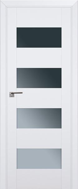Межкомнатная дверь  46U графит 800*2000 Аляска серия ProfilDoors серия U Модерн из экошпона   - Апис плюс