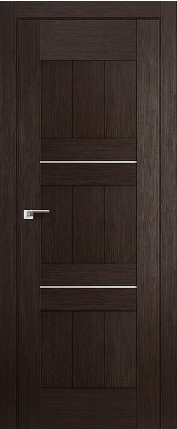 Межкомнатная дверь  34Х 800*2000 Венге мелинга серия ProfilDoors серия X Модерн из экошпона   - Апис плюс