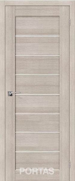 Межкомнатная дверь  21S матовое 800*2000 Лиственница крем серия Portas из экошпона   - Апис плюс