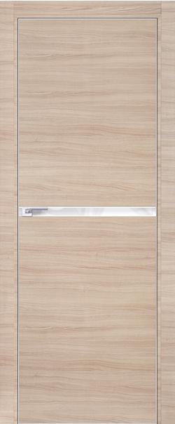 Межкомнатная дверь  11 Z 800 Капучино кроскут кромка матовая РФ с 4 сторон серия ProfilDoors серия Z из экошпона   - Апис плюс