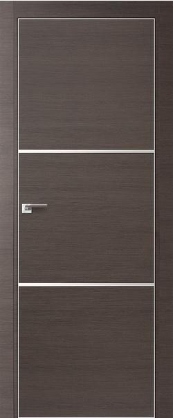 Межкомнатная дверь  2 Z 800 Грей кроскут кромка матовая РФ с 4 сторон серия ProfilDoors серия Z из экошпона   - Апис плюс