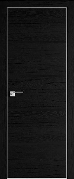 Межкомнатная дверь  20ZN черный лак 800*2000 Даркбраун матовая с 4-х сторон Eclipse 190 серия ProfilDoors серия ZN Модерн из экошпона   - Апис плюс
