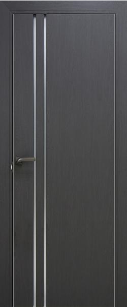 Межкомнатная дверь  35 ZN матовое 800 Грувд кромка РФ матовая с 2-х сторон Eclipse (190) серия ZN Модерн из экошпона   - Апис плюс