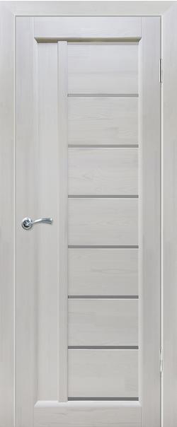 Межкомнатная дверь  Вега 8 ЧО 800*2000 Белый серия Массив сосны    - Апис плюс