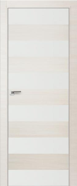 Межкомнатная дверь  8 Z белый лак 800 ЭшВайт кроскут кромка матовая РФ с 4 сторон  серия ProfilDoors серия Z из экошпона   - Апис плюс