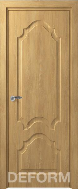 Межкомнатная дверь  Тулуза ДГ 800*2000 Дуб шале натуральный серия DEFORM Классика из экошпона   - Апис плюс