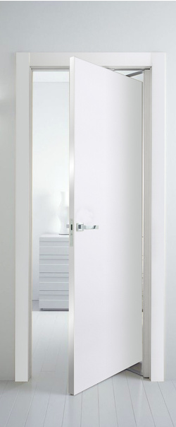 "Межкомнатная рото дверь 1 Е Дверной блок ""Рото"" 800*2000 Аляска (кромка матовая) L     - Апис плюс"