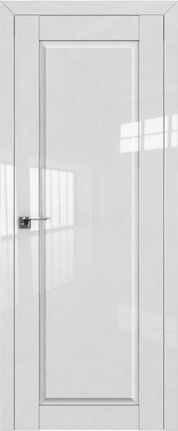 Межкомнатная дверь  100L 800*2000 Белый люкс серия ProfilDoors серия L глянец    - Апис плюс