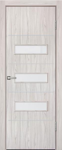 Межкомнатная дверь  Рио ДО 800*2000 Белый дуб серия Техно из МДФ    - Апис плюс