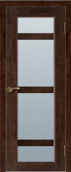 Межкомнатная дверь  Модель №2 ДО 800.2*2000 Венге серия Массив сосны    - Апис плюс