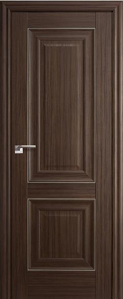 Межкомнатная дверь  27Х 800*2000 Натвуд натинга серебро серия ProfilDoors серия X Классика из экошпона   - Апис плюс