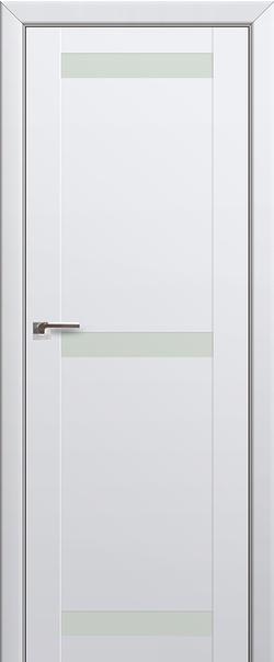 Межкомнатная дверь  75U белый лак 800*2000 Аляска серия ProfilDoors серия U Модерн из экошпона   - Апис плюс