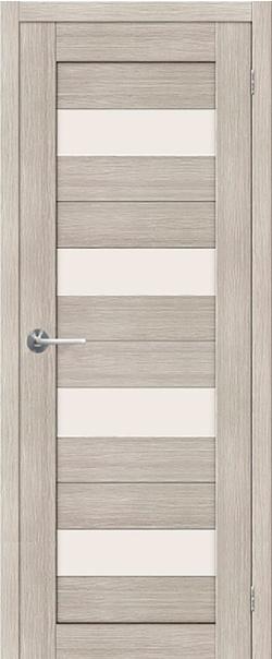 Межкомнатная дверь  ST2 ПО 800*2000 Капучино серия STARK из экошпона   - Апис плюс
