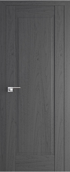 Межкомнатная дверь  100Х 800*2000 Пекан темный серия ProfilDoors серия X Классика из экошпона   - Апис плюс