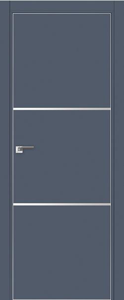 Межкомнатная дверь  2E 800*2000 Антрацит матовая с 4-х сторон Eclipse БЕЗ ЗПЗ серия ProfilDoors серия E из экошпона   - Апис плюс