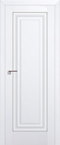 Межкомнатная дверь  23U 800*2000 Аляска серебро серия ProfilDoors серия U Классика из экошпона   - Апис плюс