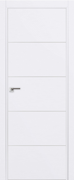 Межкомнатная дверь  7E 800 Аляска (кромка матовая) AGB Eclipse серия ProfilDoors серия E из экошпона   - Апис плюс