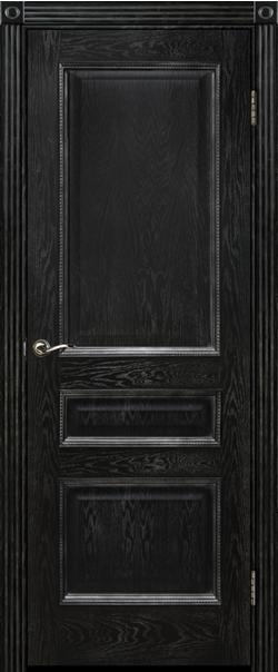 Межкомнатная дверь  ДГ Вена 900 Эмаль черная РАСПРОДАЖА серия Премиум из шпона    - Апис плюс
