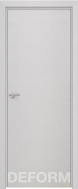 Межкомнатная дверь  Н-7 800*2000 Дуб французский сильвер серия DEFORM Серия H   - Апис плюс