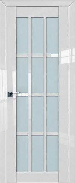 Межкомнатная дверь  102L матовое 800*2000 Белый люкс серия ProfilDoors серия L глянец    - Апис плюс