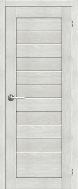 Межкомнатная дверь  ST1 ПО 800*2000 Бьянко серия STARK из экошпона   - Апис плюс