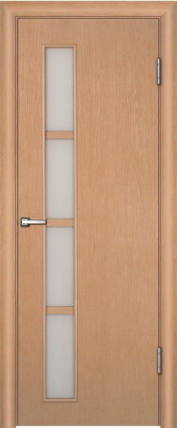 Межкомнатная дверь  Инфинити 14 ДО 800*2000 Беленый дуб ламинатин серия Техно из МДФ    - Апис плюс