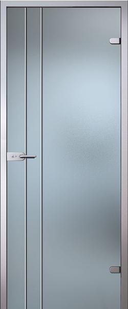 Межкомнатная дверь  Калиса стекло матовое б/ц 800*2000 L серия Classic (Классик)    - Апис плюс